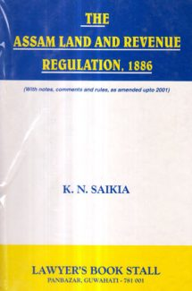 The Assam Land and Revenue Regulation,1886